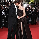 The couple shared a kiss at the Cannes Film Festival in May 2011.