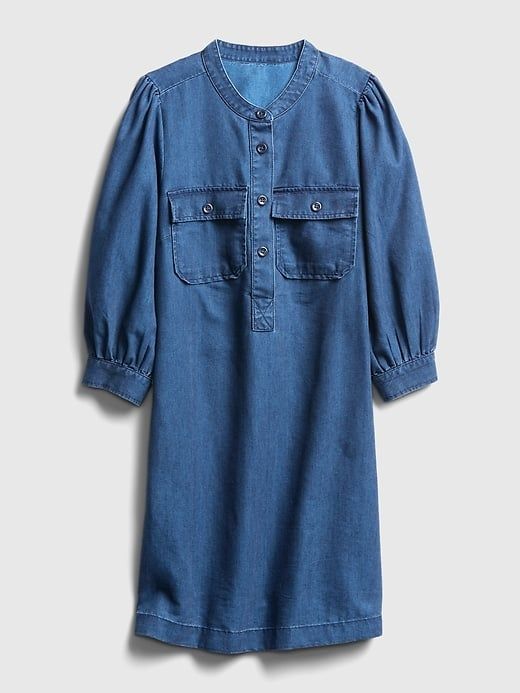 Gap Utility Denim Dress