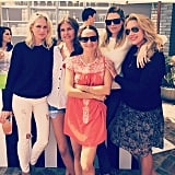 Erin Foster, Sara Foster, Jennifer Meyer, and Friends