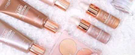 This Popular L'Oréal Paris Highlighting Collection Just Went ROSE GOLD!