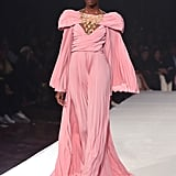 A Pink Gown From the Pyer Moss Runway at New York Fashion Week