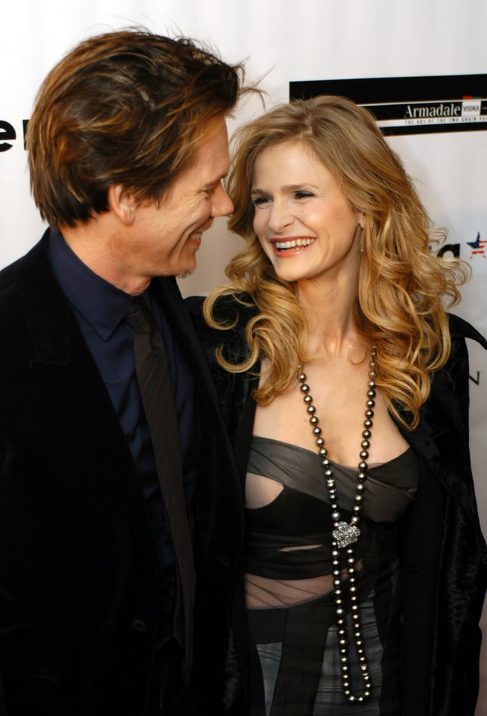They shared a sweet moment during The Woodsman premiere in NYC in December 2004.