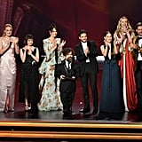 Cast of Game of Thrones at the 2019 Emmys
