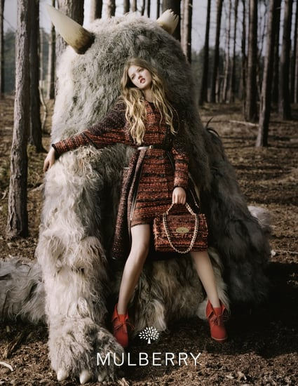 Lindsey Wixson in Mulberry's Autumn/Winter 2012 Campaign