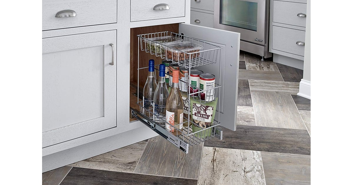 Closetmaid Premium Wide 3 Tier Compact Kitchen Cabinet Pull Out