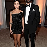 Jhené Aiko and Big Sean at Diddy's 50th Birthday Party