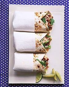 Fast & Easy Dinner: Beef and Potato Burritos
