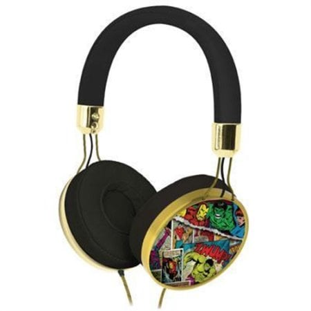 For 6-Year-Olds: Marvel Super-hearo Headphones