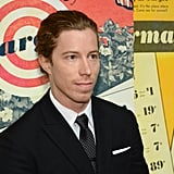 Shaun White wore a suit at the NYC event.