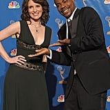 Tina Fey and Tracy Morgan at the 2006 Emmy Awards