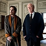 Christian Bale and Michael Caine in The Dark Knight Rises.