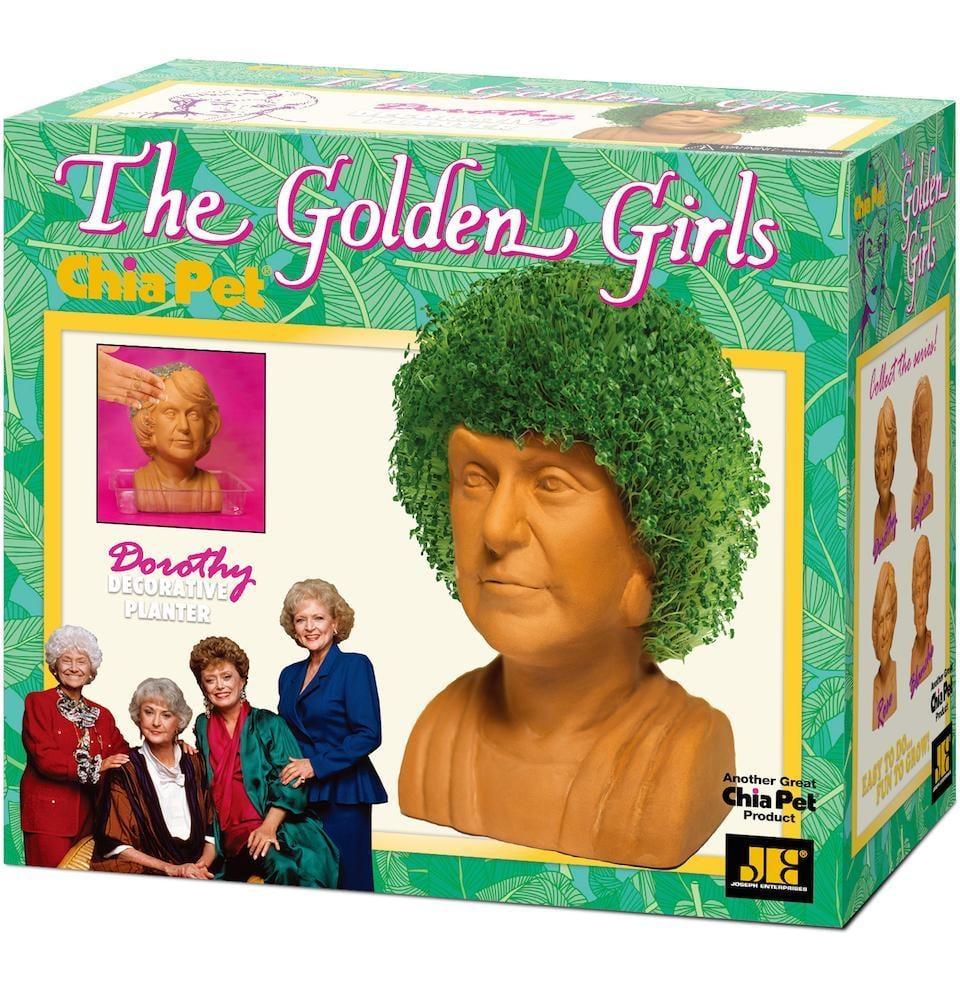 The Golden Girls Chia Pet — Dorothy