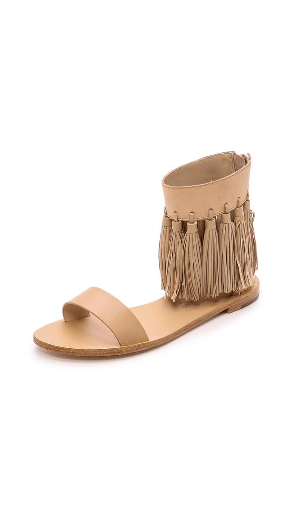 Loeffler Randall Lark Fringe Sandals ($375)