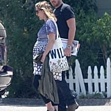 Drew Barrymore and Will Kopelman went out on a lunch date on their honeymoon in Montecito.
