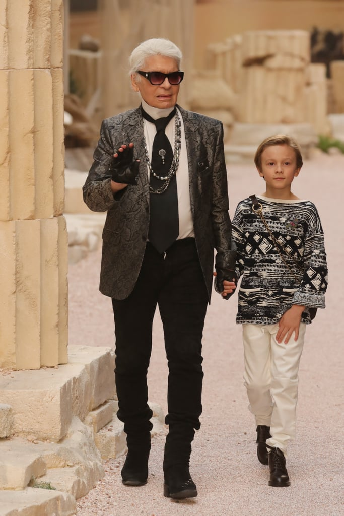 Image result for karl lagerfeld and his godson
