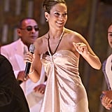 Jennifer Lopez at the 1st Annual Latin Grammys in 2000