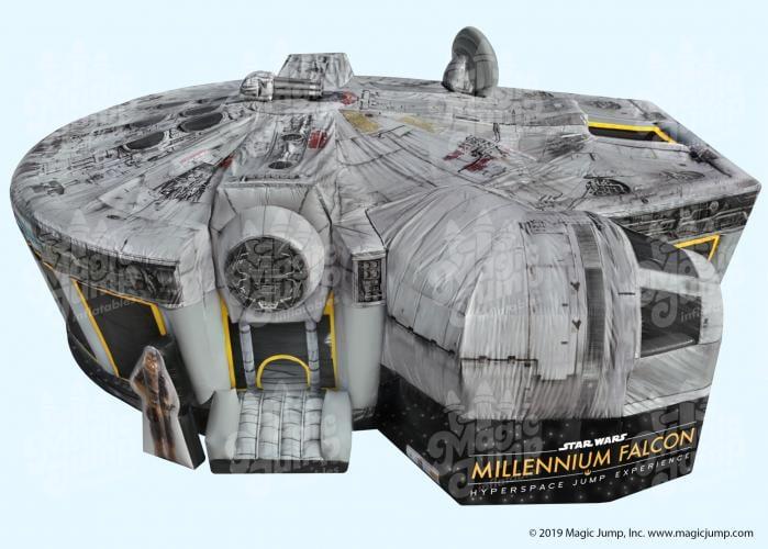 Star Wars Millennium Falcon Bounce House by Magic Jump