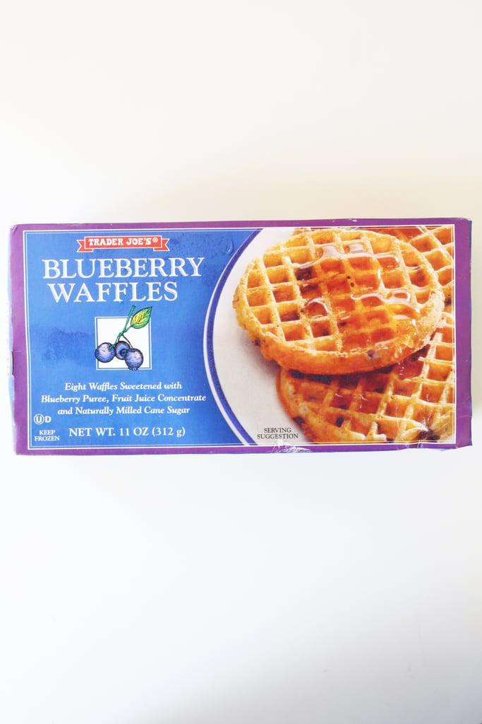 Trader Joe's Frozen Blueberry Waffles