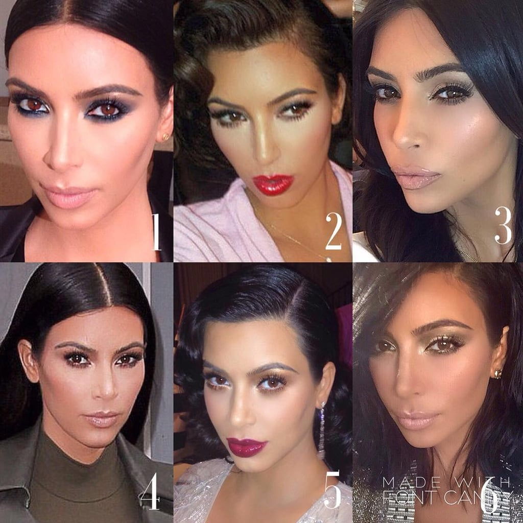 Best Kim Kardashian Makeup Looks By Mario Dedivanovic