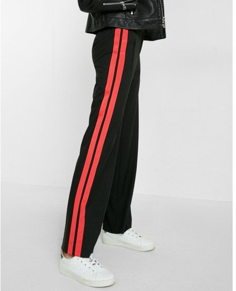 Express side stripe track pant ($98)