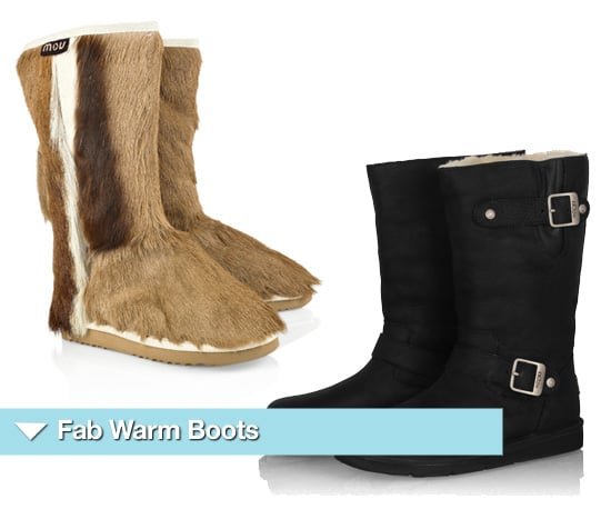Flat Warm Boots for Winter 2010 by Ugg, Mou and More