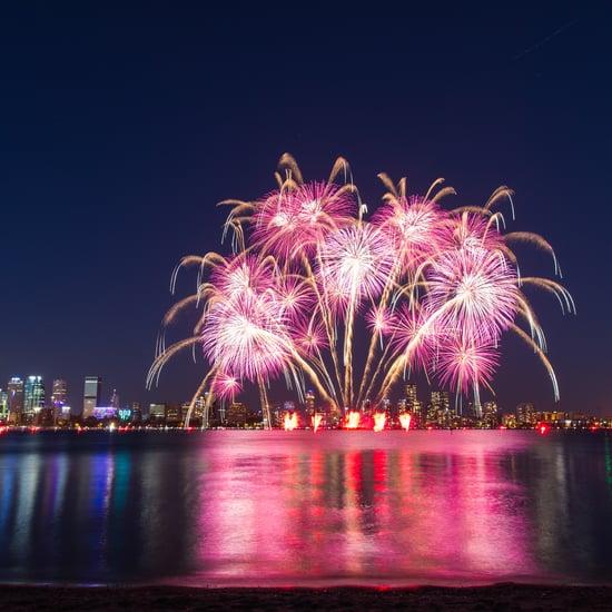 أماكن عروض الألعاب النارية المجانية خلال عيد الفطر في دبي