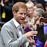 Prince Harry in Northern Ireland September