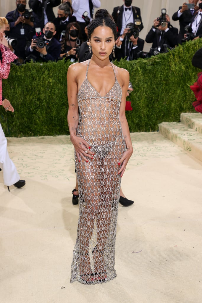 Zoë Kravitz Saint Laurent Dress Met Gala 2021