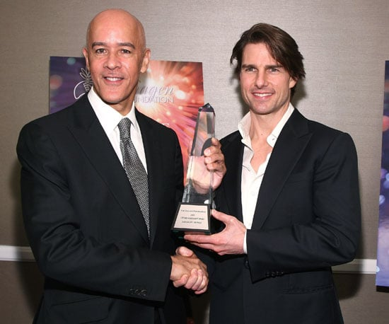 Photo Slide of Tom Cruise at The IMAGEN Awards in LA