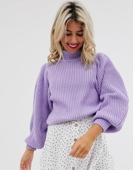 ASOS Design Chunky Rib Sweater