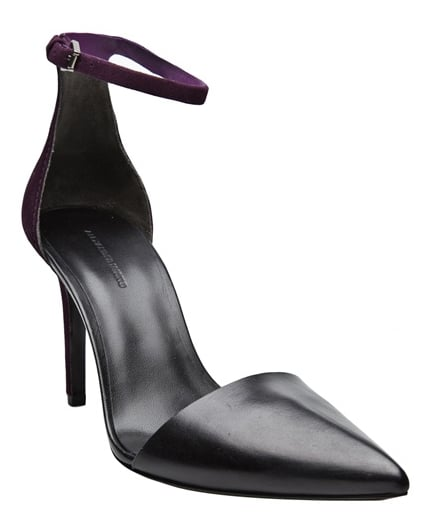 Alexander Wang's ankle-straps have that city-slick sex appeal that's still work-appropriate.  Alexander Wang Lina Pump ($485)