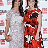 Eugenie and Pippa Middleton paired up for a charity event in 2016.