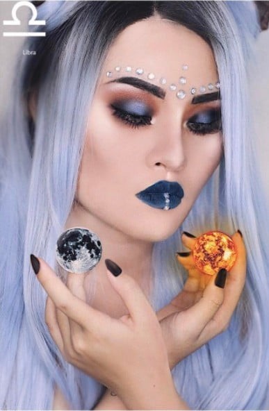 Zodiac Makeup Looks From Instagram