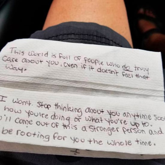 Southwest Flight Attendant's Note For Grieving Mom