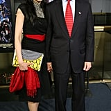 Abedin and Anthony Weiner were married by Bill Clinton.