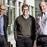 His Wingman? Bill Gates