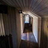 A Top Floor Hallway