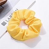 Belle: Yellow Hair Scrunchie