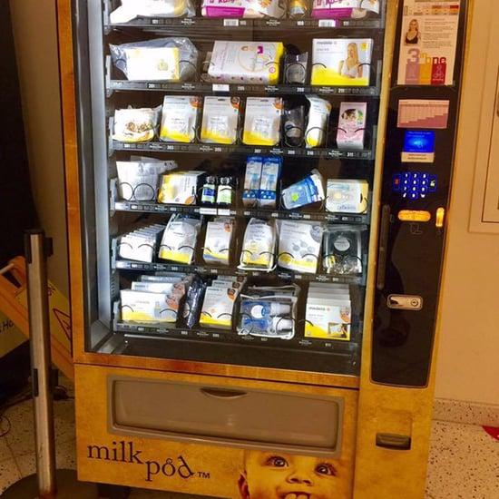 Milkpod Vending Machines For Breastfeeding Moms