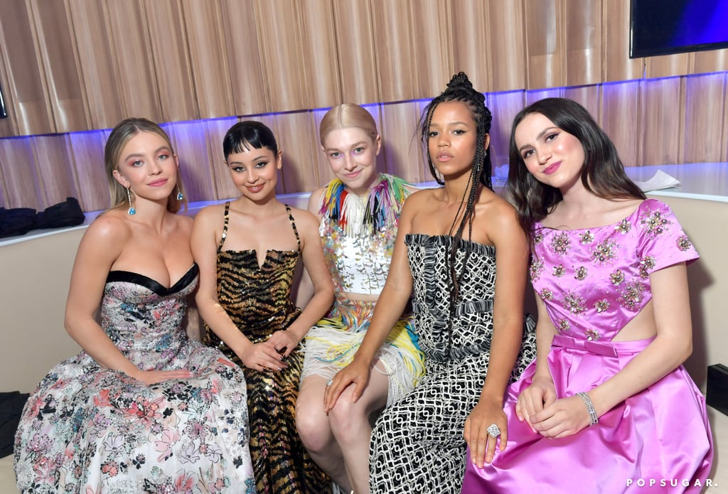 The Euphoria Cast at the 2020 Vanity Fair Oscars Afterparty