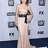 Sarah Hyland went to the Fox post-Golden Globes bash.