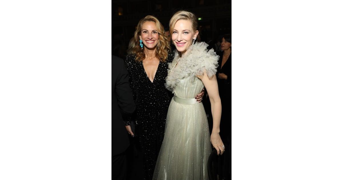 Julia Roberts And Cate Blanchett At The British Fashion