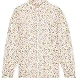 Ruffle Collar Blouse ($370)