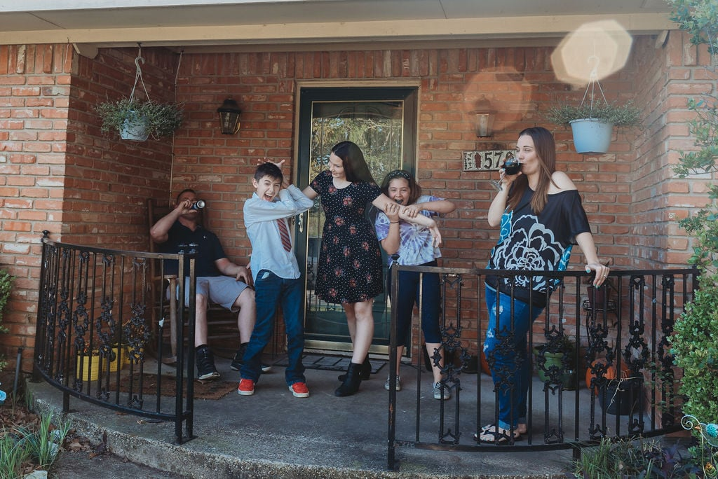 Front Porch Photo Series During the Coronavirus