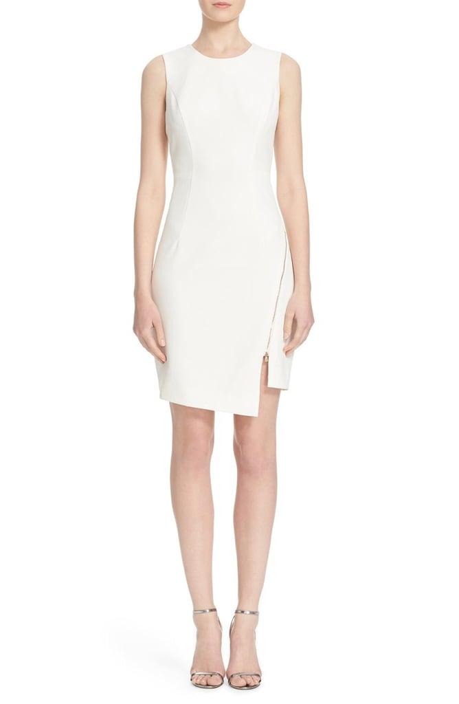 Mily Zipper Detail Sheath Dress ($375)