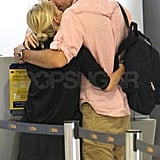 Jim Toth leaned in to kiss Reese Witherspoon.