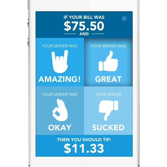 tip calculator app popsugar career and finance