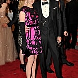 January Jones in Yves Saint Laurent with Stefano Pilati