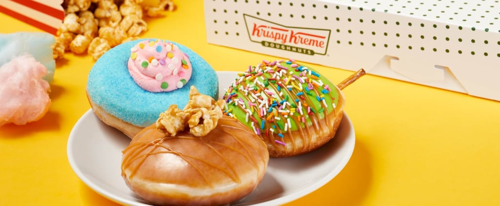 Check Out Krispy Kreme's New Carnival Doughnuts For Summer