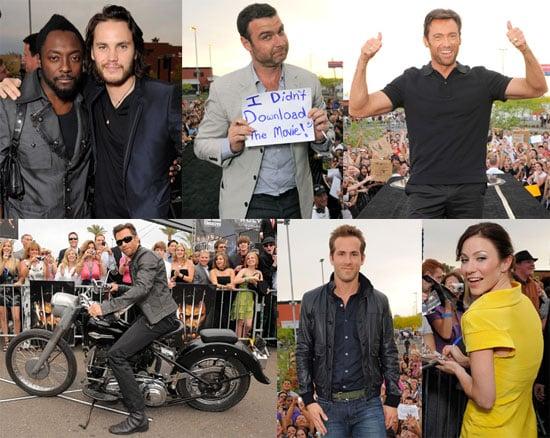 X Men Origins: Wolverine Premiere in Arizona